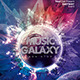 Music Galaxy Party Template - GraphicRiver Item for Sale