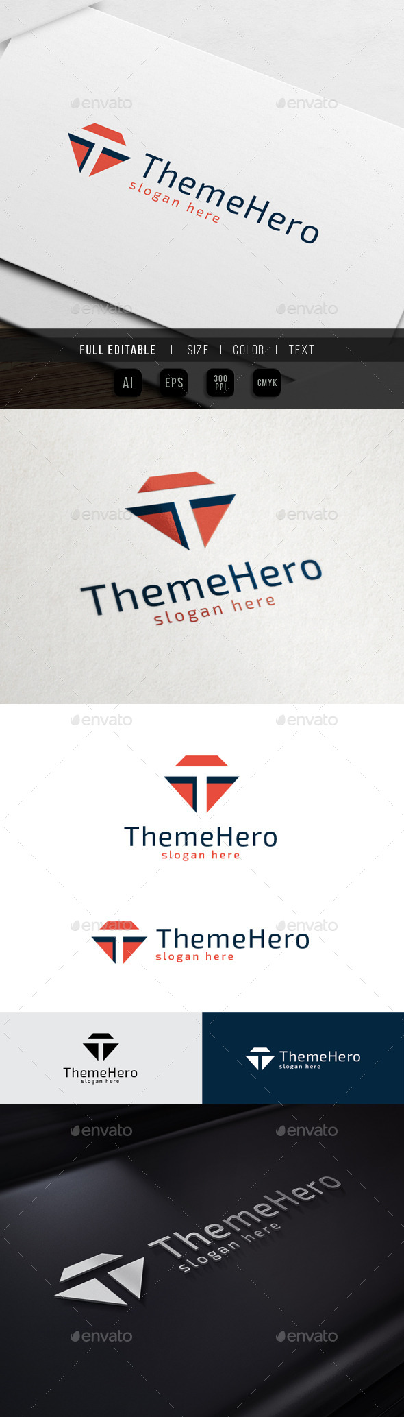GraphicRiver Theme Hero Letter T 10547443