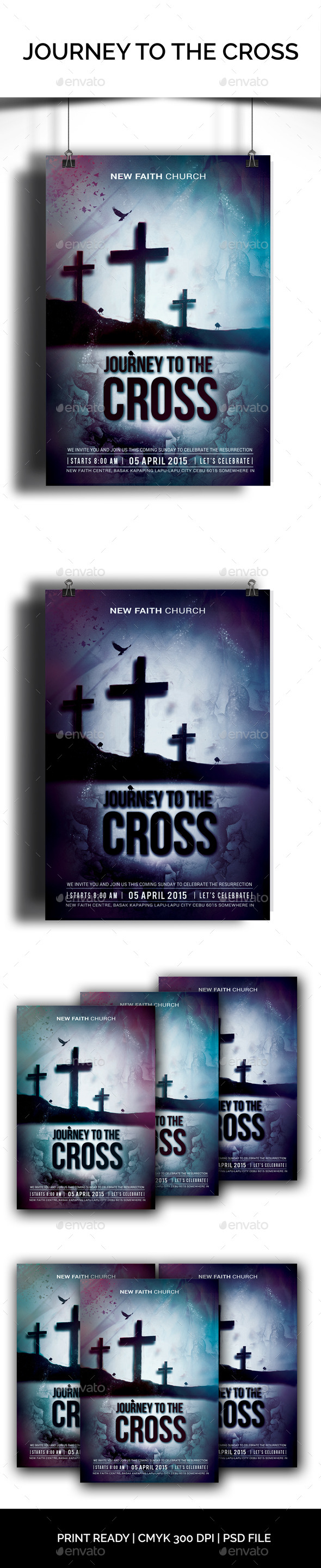 GraphicRiver Journey To The Cross 10547552