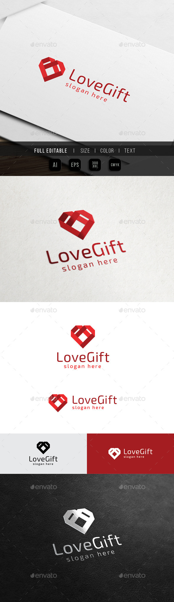 GraphicRiver Love Gift Relationship 10547564