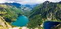 Beautiful glacial lakes in Polish Tatra mountains - PhotoDune Item for Sale