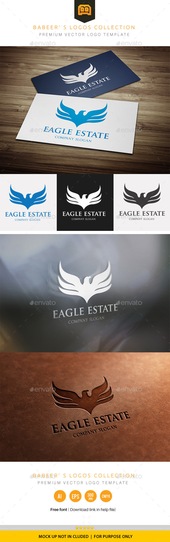 GraphicRiver Eagle Estate 10547770