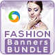 Fashion Jewellery Banners Bundle - 3 sets - GraphicRiver Item for Sale