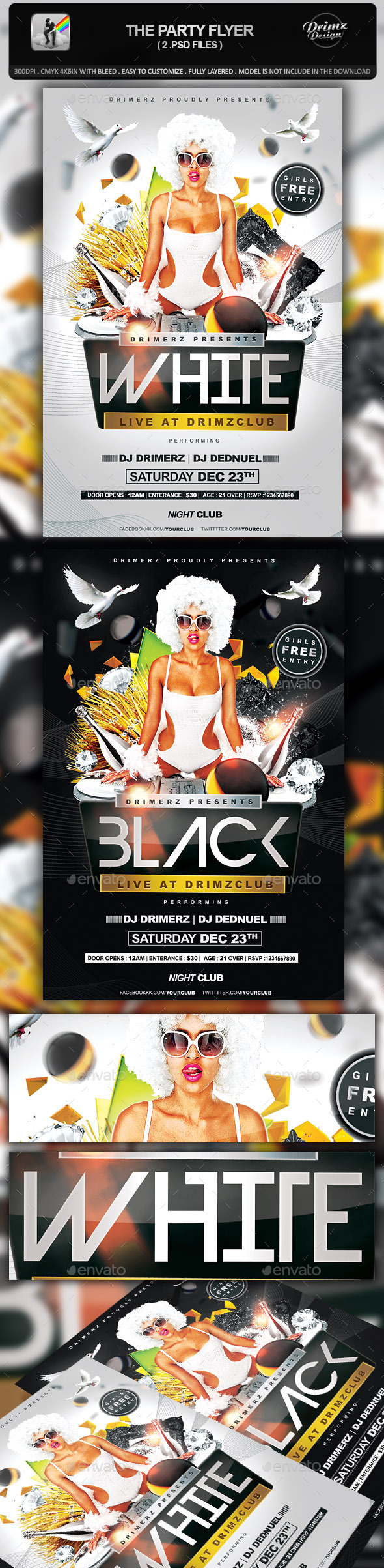 GraphicRiver The Party Flyer 10451355