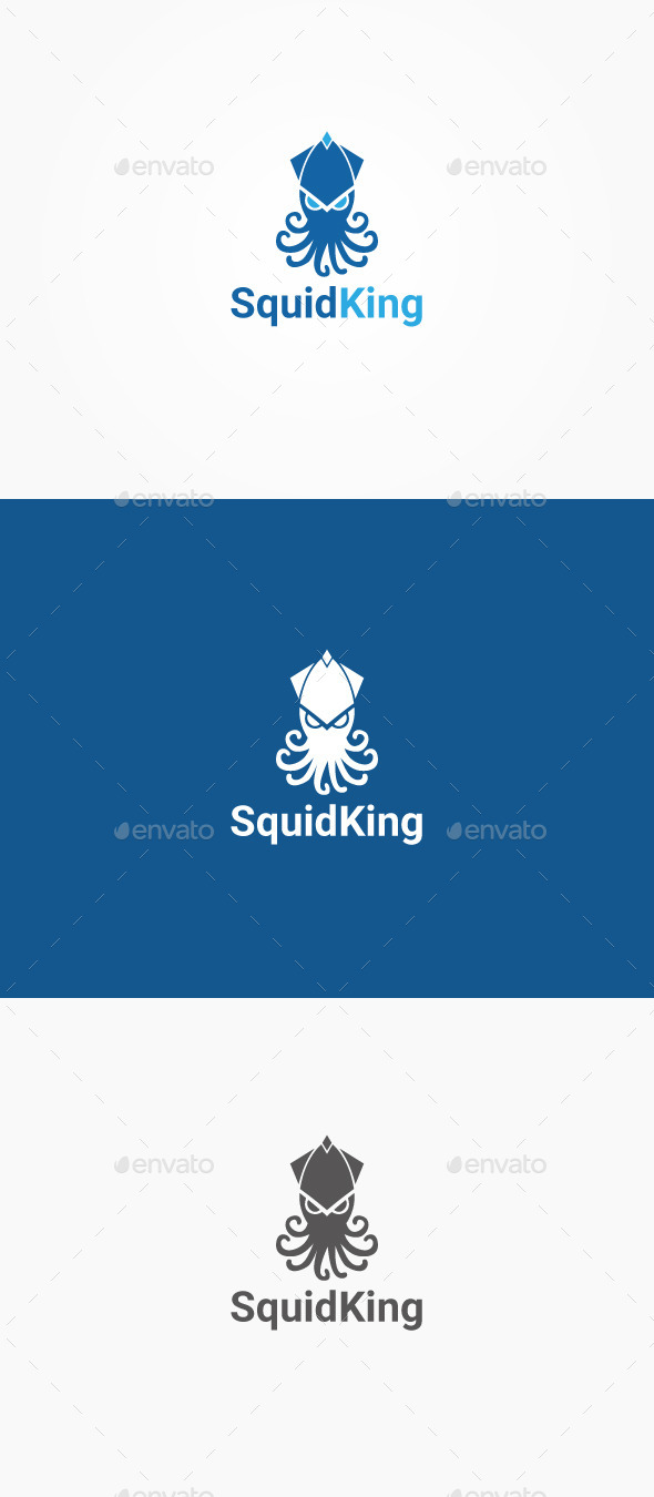GraphicRiver Squid King 10548015