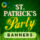 St Patricks Party Banners - GraphicRiver Item for Sale