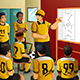 Soccer Players in Locker Room  - GraphicRiver Item for Sale