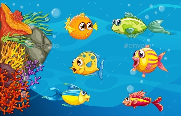 GraphicRiver Underwater 10548376