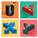 Alphabets Concept in 3D - GraphicRiver Item for Sale