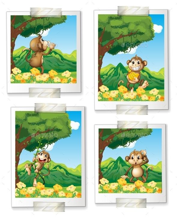 GraphicRiver Monkeys 10548769