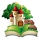 Castle and Book - GraphicRiver Item for Sale