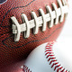 Football and baseball balls - PhotoDune Item for Sale
