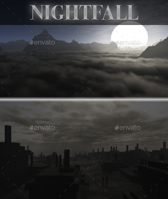GraphicRiver Night HD Skybox Pack 10549930