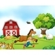 Farmer and Horse - GraphicRiver Item for Sale