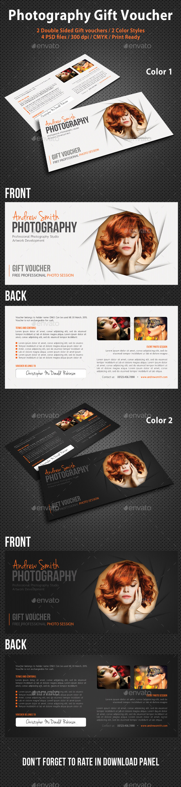 GraphicRiver Photography Studio Gift Voucher 05 10550178