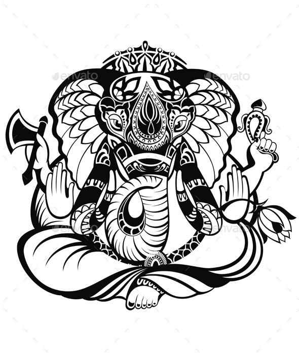 GraphicRiver Ganesha 10550185