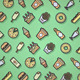 Food Pattern - GraphicRiver Item for Sale