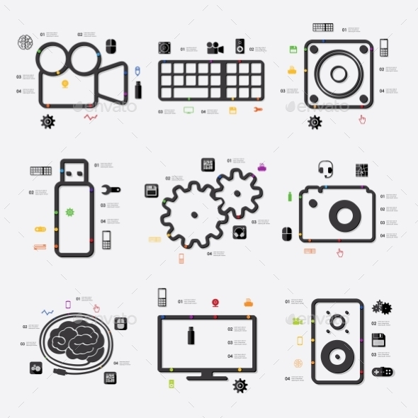 GraphicRiver Technology Infographic 10550232