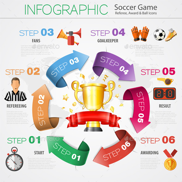 GraphicRiver Soccer Infographics 10550263