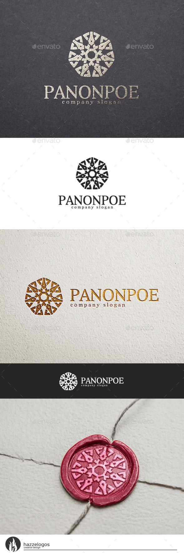 GraphicRiver Panonpoe Logo 10550388
