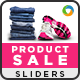 Product Sale Sliders - GraphicRiver Item for Sale