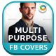 Multipurpose Facebook Covers - GraphicRiver Item for Sale