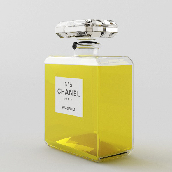 Perfume Chanel 5 - 3DOcean Item for Sale