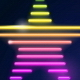 Set of Decorative Vector Neon Stars - GraphicRiver Item for Sale