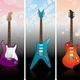 Set of Different Electro Guitars - GraphicRiver Item for Sale