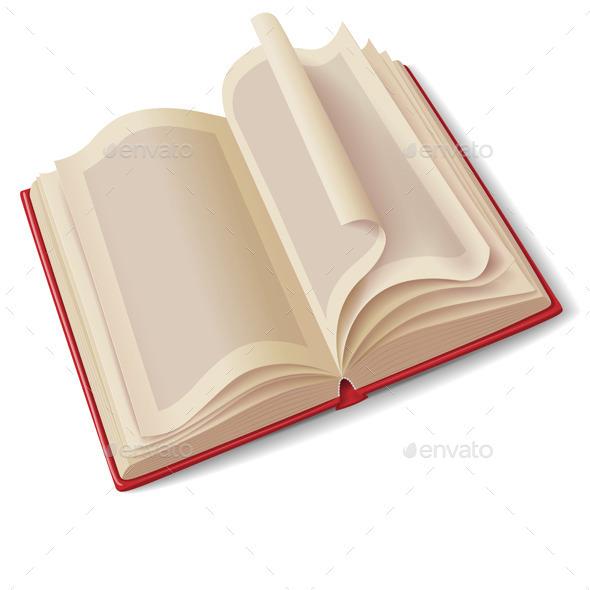 GraphicRiver Open Book 10550934