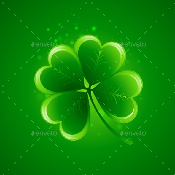 GraphicRiver Clover Leaf Saint Patricks Day 10550949