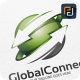 Global Connect / Arrow - Logo Template - GraphicRiver Item for Sale