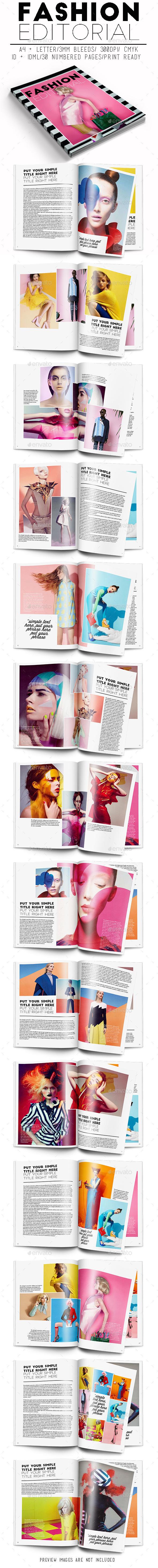GraphicRiver Fashion Editorial 10551077