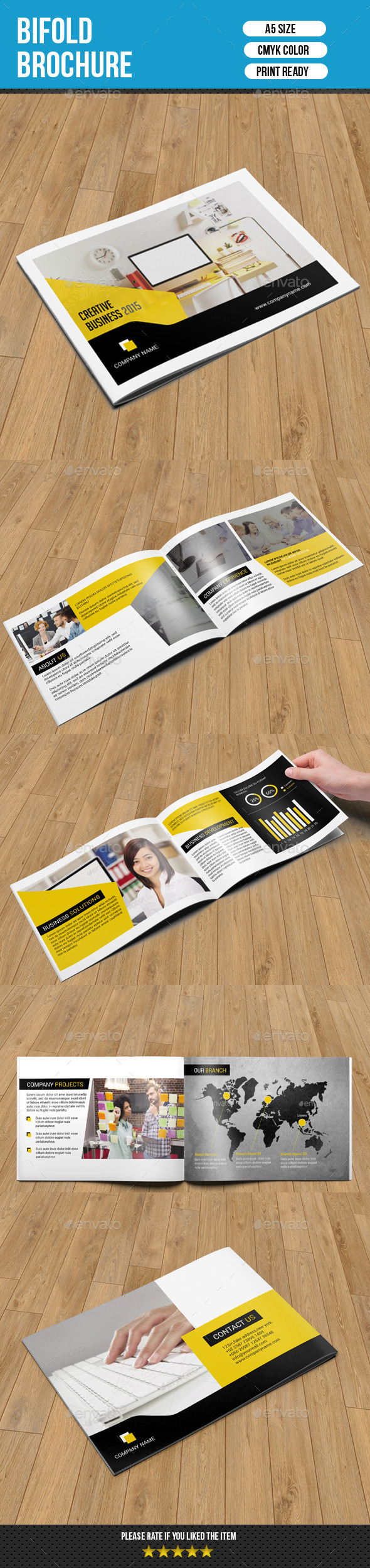 GraphicRiver Corporate Brochure Catalog-V153 10551107