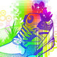 Abstract Colorful Illustration with Sneaker - GraphicRiver Item for Sale