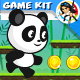 Panda Run  Platformer Game Kit - GraphicRiver Item for Sale