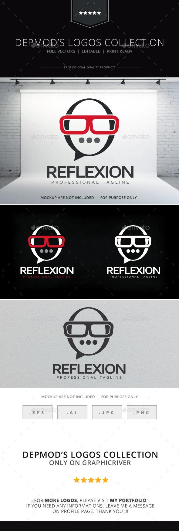 GraphicRiver Reflexion Logo 10556466