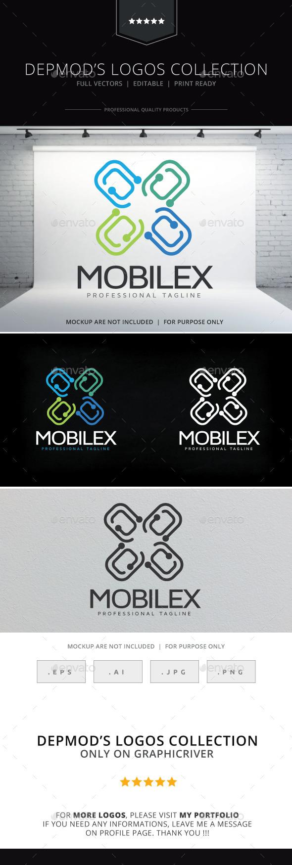GraphicRiver Mobilex Logo 10556727