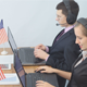 American Operators Working in Office - VideoHive Item for Sale
