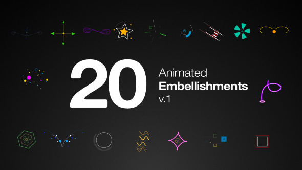 Animated Embellishments V1 (Elements)