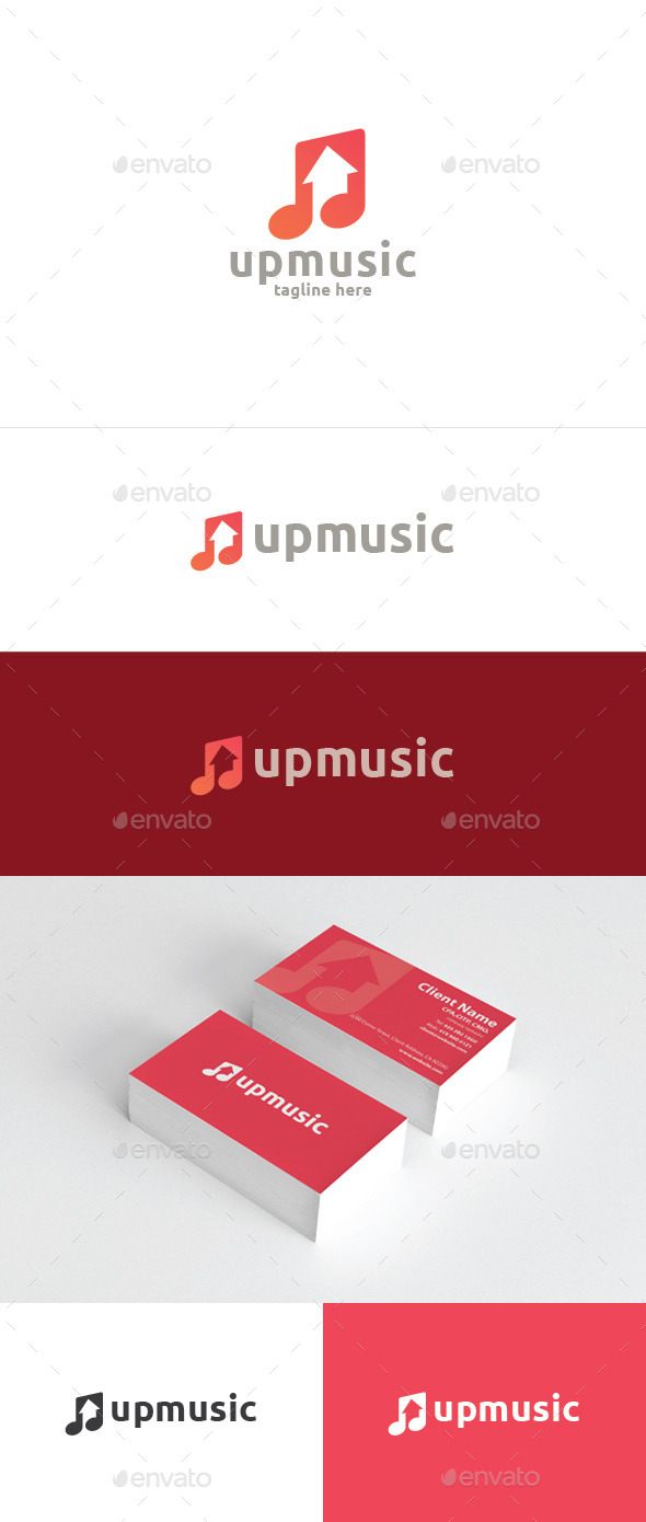 GraphicRiver Up Music 10557628