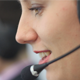Beautiful Call Center Operator Talking With Client - VideoHive Item for Sale