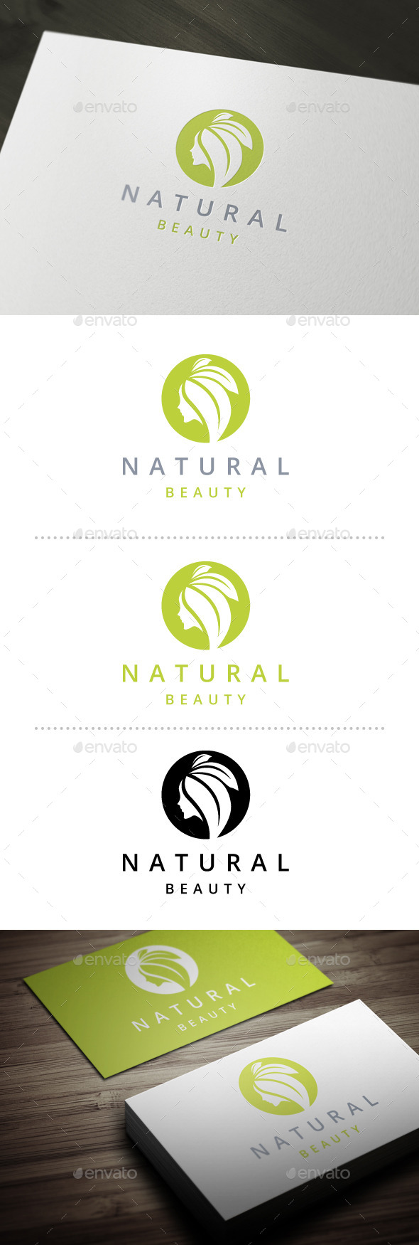 GraphicRiver Beauty Logo 10557645