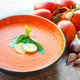 Bowl of tomato soup gaspacho - PhotoDune Item for Sale
