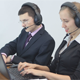 Call Center Operator Using Tablet - VideoHive Item for Sale