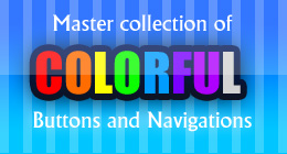 COLORFUL BUTTONS AND NAVIGATIONS