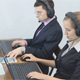 Call Center Operators Using Laptops and Tablets - VideoHive Item for Sale