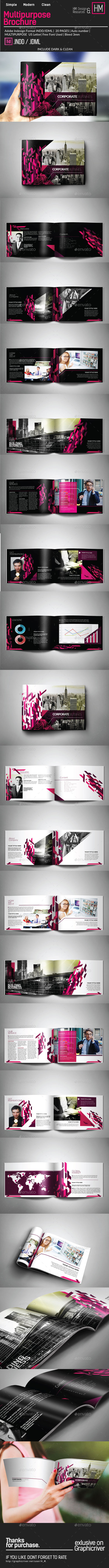 GraphicRiver Multipurpose Corporate Brochure 10559441