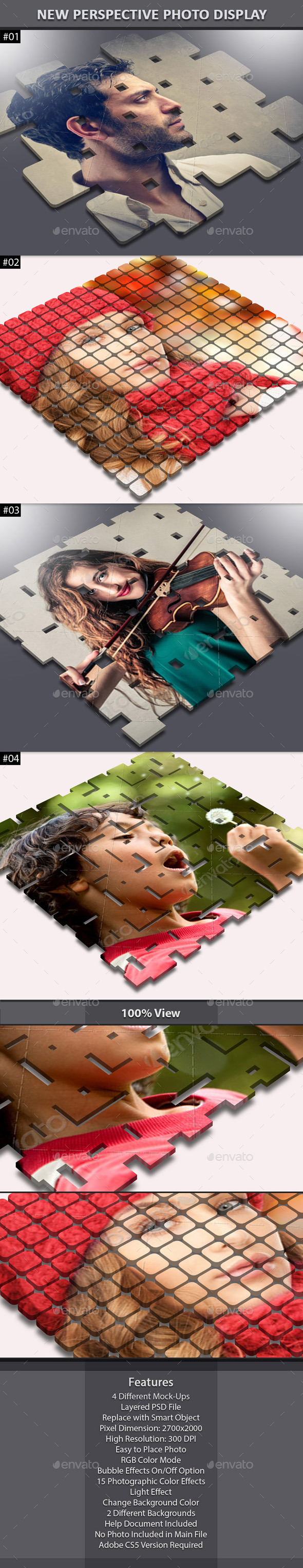 GraphicRiver New Perspective Photo Display 6077687
