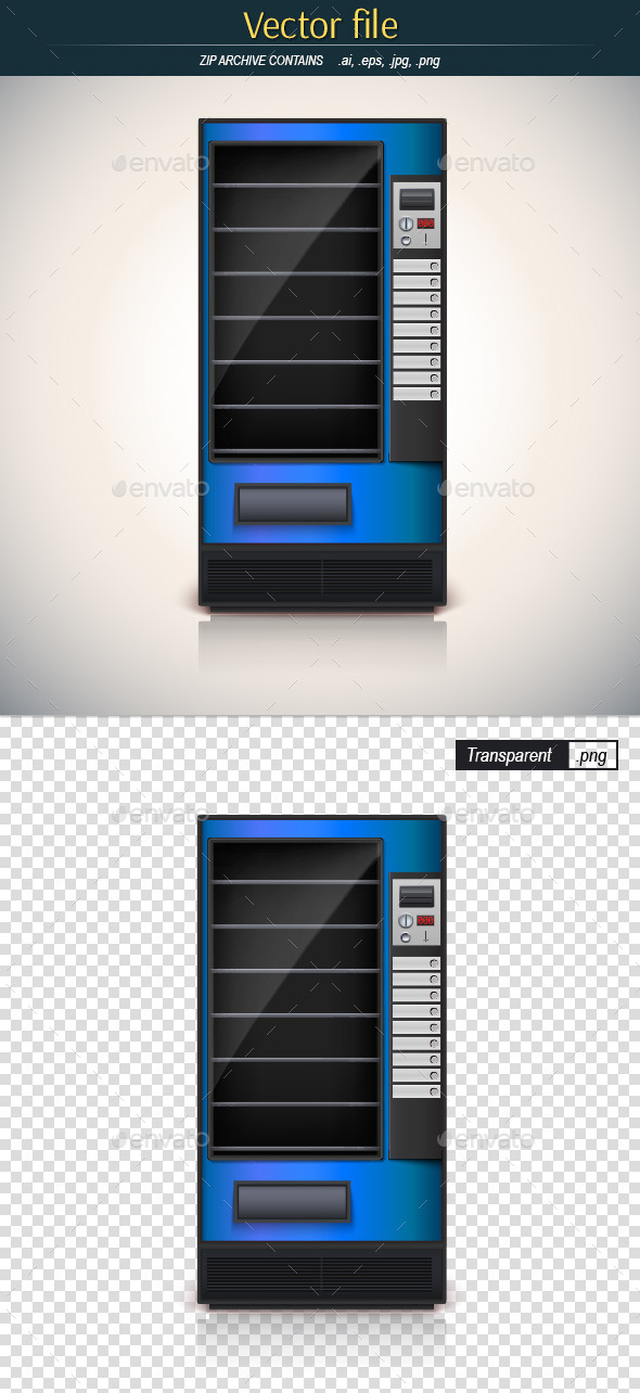 GraphicRiver Vending Machine 10559738